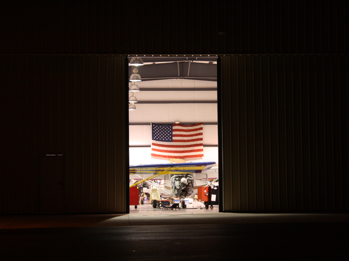 maintenance hangar